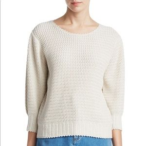 See by Chloe waffle knit sweater